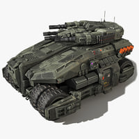 sf vehicle scifi 3D model