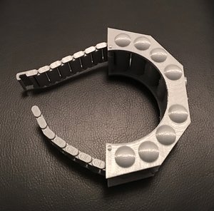 3D model blake 7 scorpio bracelet