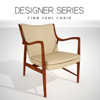 3D model finn juhl chair