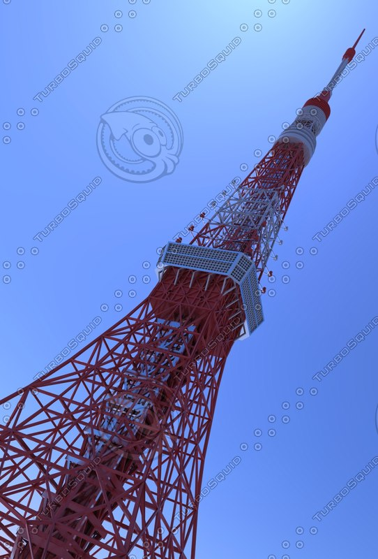 3D tokyotower model