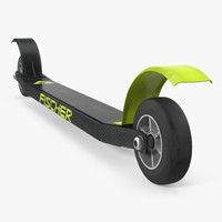 Skate Roller Skis 3D Model