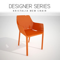 designer kristalia mem chair 3D