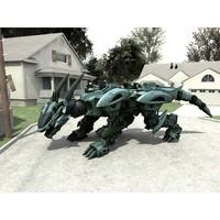 robot mech poser 3D