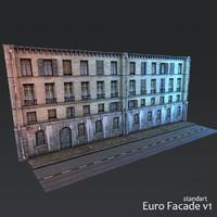 Euro Facade v1 (low poly)