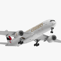 airbus a350-900 emirates air model