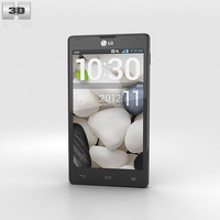 3D lg optimus g model