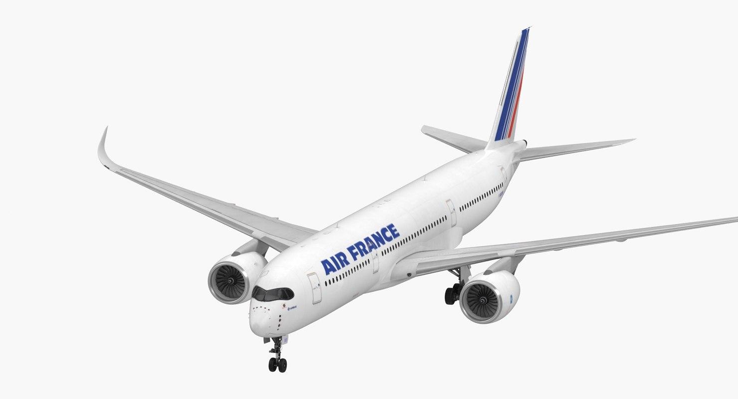 airbus a350-900 air france model