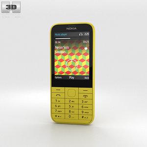 nokia 225 yellow model