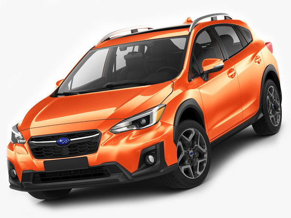 subaru xv crosstrek 3D model