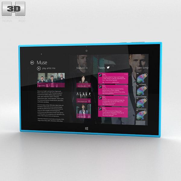 3D nokia lumia 2520