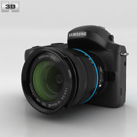 galaxy nx samsung 3D model