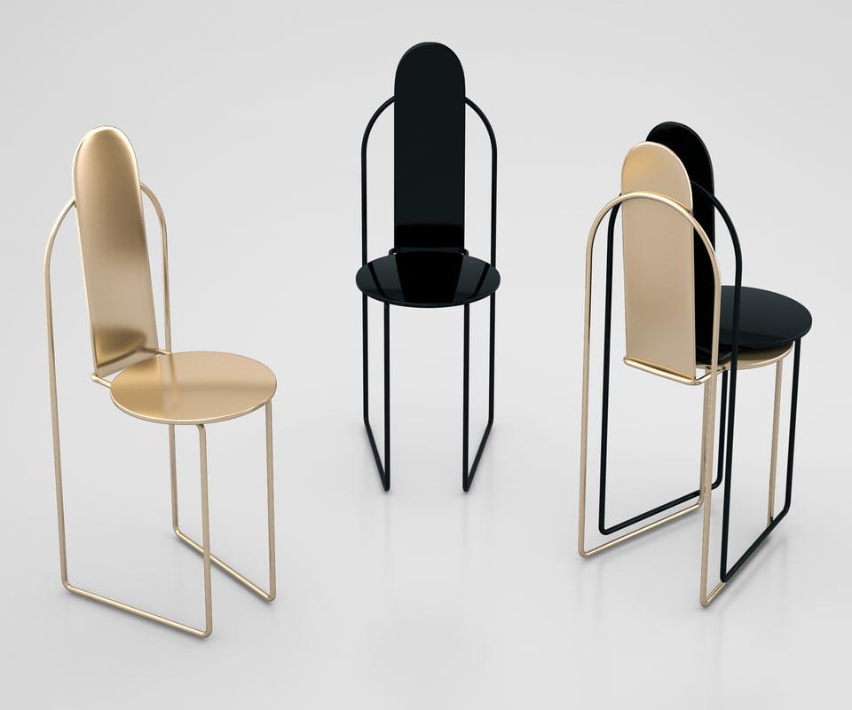 3D pudica chair pedro