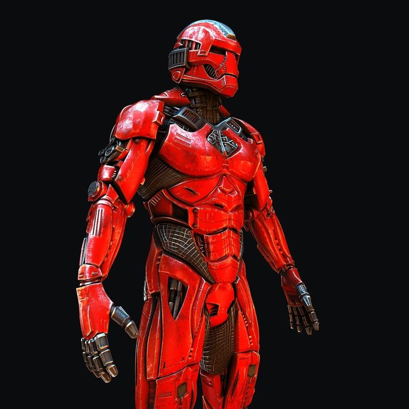 3D super hero airon