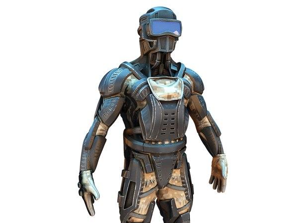 future ninja 3D model