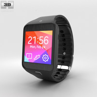 3D model samsung gear 2