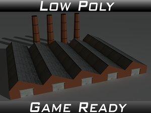 3D factory building 14