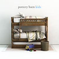 pottery barn camp 3D