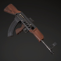 7 assault rifle afanasyev model
