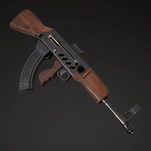 7 assault rifle afanasyev model