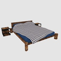 Country Style Bed