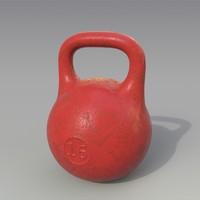 kettlebell red