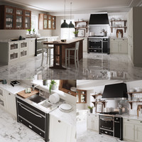 kitchen scavolini 3D model