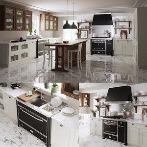 kitchen scavolini 3D model