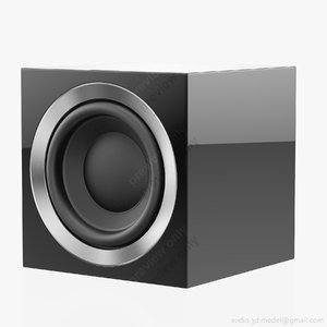3D subwoofer bowers wilkins asw