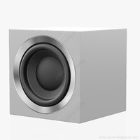 subwoofer bowers wilkins asw 3D