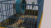 coop hamster 3D model