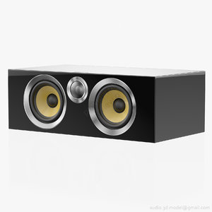 3D central bowers wilkins cm model