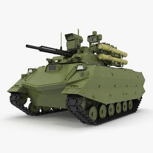 uran-9 ucgv 3D model