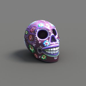 handcraft skull 3D model