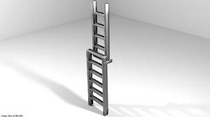 3D model ladder level