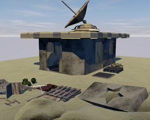 desert lot 3D model