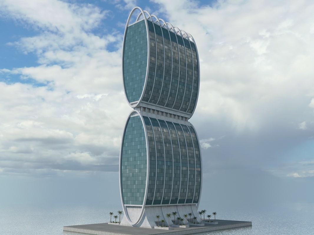 building sci fi 3D