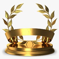 trophy wreath 3D model