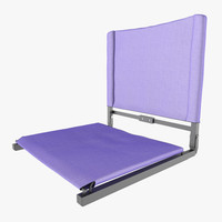 3D stadium seat bleachers