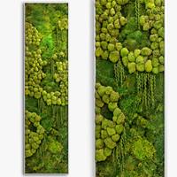 3D model panel jungle