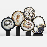 3D agate decor set 03