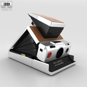 3D model polaroid sx-70 sx