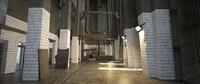 prison scene 3 d 3D