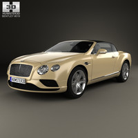 3D bentley continental gtc