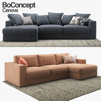 sofa boconcept cenova 3D model