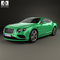 bentley continental gt 3D model