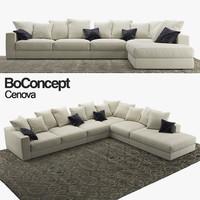 3D sofa boconcept cenova