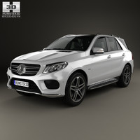 Mercedes-Benz GLE-Class (W166) AMG Line 2014