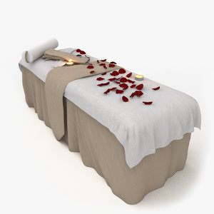 3D spa relaxing bed