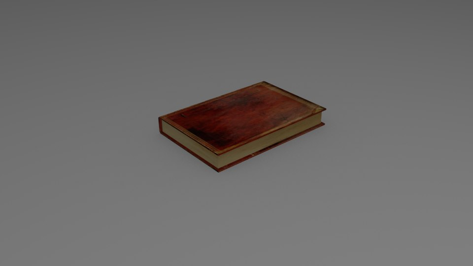 3D simple book
