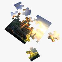 3D puzzle 4x4